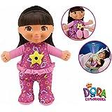 Dora la Exploradora - Muñeca sueños luminosos, 28 cm (Mattel CCV82-0)