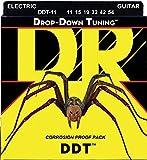 DR Strings DROP DOWN TUNING 11-54 Jeu de Cordes pour Guitare Electrique
