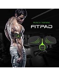 FITPAD Abs Trainings geräte Übung Bauch muskulatur Trainer Body Toner Arms Toning Gewicht Verlust Bauchmuskel Gürtel Gym Workout Home Fitness Maschine, Bauen Bauchmuskulatur Gliedermuskulatur für Mann und Frau