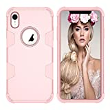 Forhouse Phone Hülle für iPhone Xr Hülle Phone case Boys Back Bumper Cover [ Rose Gold ]