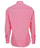 Tommy Hilfiger Custom-Fit Camisetas (XL, Rojo)