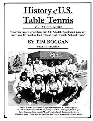 History of U.S. Table Tennis Volume 11 por Tim Boggan