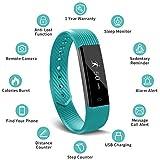 Smart Fitness Band, Muzili Activity Tracker Sleep Monitor, Fitness Tracker Activity Band Pedometer