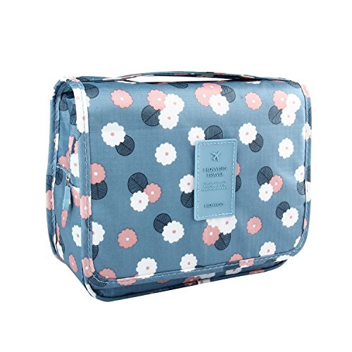 Discoball Portable Travel Folding Make Up Toiletry Bags With Hook Organizer Bags Cosmetic Bags ...