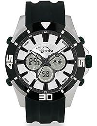 gooix Reloj de hombre cuarzo Chrono Negro Plástico uua de 05945