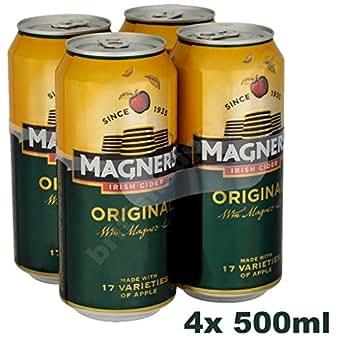 original magners irish cider 4x 500ml 4 5 vol bier wein spirituosen. Black Bedroom Furniture Sets. Home Design Ideas