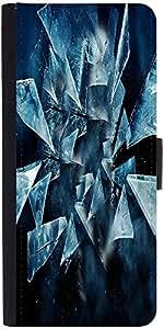 Snoogg Dark Scenes In The Shattered Glass 2618 Designer Protective Flip Case ...