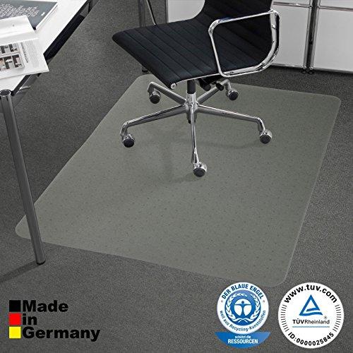 Performa Bodenschutzmatte PET Teppichböden mit TÜV und Blauer Engel - 4 Größen wählbar -...