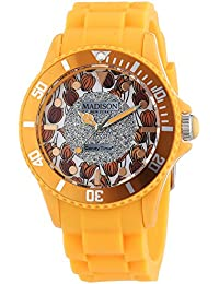 Madison New York analog Flower Power multi-color dial Unisex watch - U4617-22