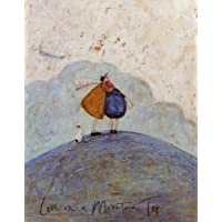 Sam Toft Mounted Print - Love On A Mountain