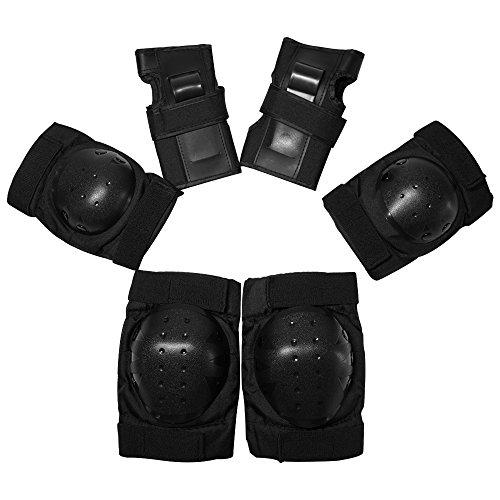DSMY Sechs-Teilige Protektoren-set(Größe M oder Größe L) Schutzausrüstung--Handgelenkschoner, Kniesc DSMY (L) (K2 Jacke)