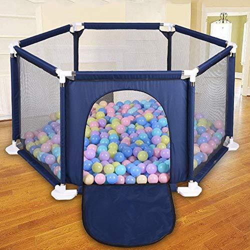 Dream-cool Zaun für Kinder Kinderspiel Faltbarer Zaun Outdoor sechsseitiger Sicherheitszaun Bunte Bälle Pool Zelt Spielhaus Spielzaun Kinder Baby Indoor Outdoor Spielstall - Baby Zaun