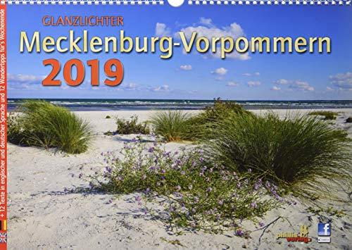 Glanzlichter Mecklenburg-Vorpommern 2019: with English explanations par Jörg Neubert