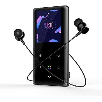Hifi-player Original Metall Mp3 Player Verlustfreie Hifi Mp3 Musik Player Mit Hohe Qualität Sound Out Lautsprecher E-buch Fm Radio Uhr schwarz