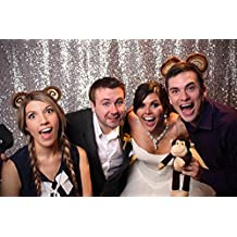Foto Telón de fondo mejor elección 5FT * 6ft fondos de bodas de plata, decoración de fondos de lentejuelas, cortinas de tela fondos, con lentejuelas, Party (comprar ahora)