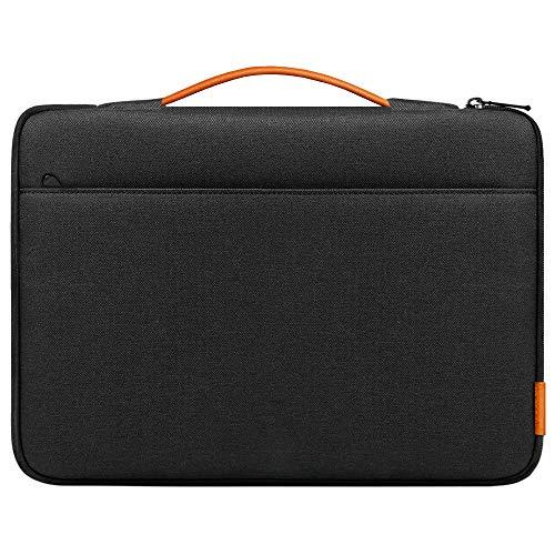 Inateck Laptop Tasche Hülle Ultrabook Sleeve Kompatibel mit 14 Zoll Laptops und 15-15,4 Zoll MacBook Pro/MacBook Pro Retina Schwarz