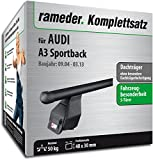 Rameder Komplettsatz, Dachträger Tema für Audi A3 Sportback (118774-05143-9)