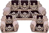 Wow Latest Design Cotton 5 seater sofa cover