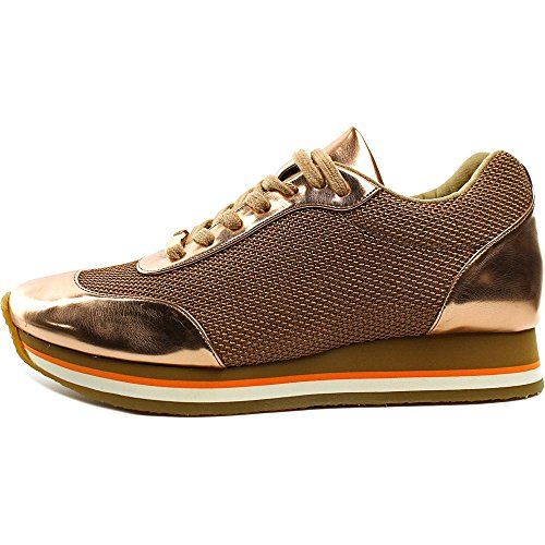 Stella McCartney Tess. S. Gomma Synthétique Baskets Toffee-Rose Gold
