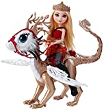 Ever After High Dragon Games Apple White Doll and Braebyrn Dragon by Ever After High