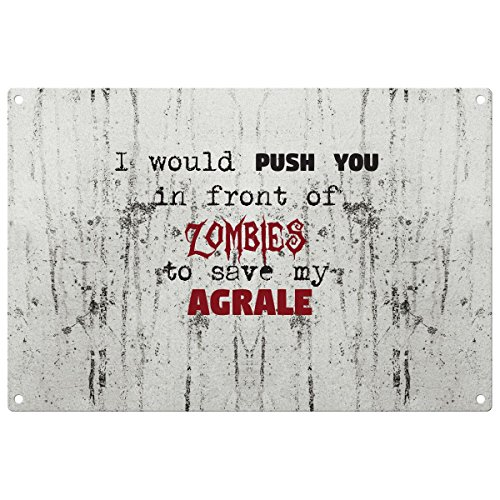 save-my-agrale-from-the-zombies-vintage-decorative-wall-plaque-ready-to-hang