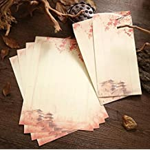 Dylandy - Sobre de estilo chino para escribir cartas y sobres, diseño vintage personalizado,