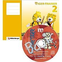 Tiger-Trainer 2 – Arbeitsheft mit CD-ROM Mathetiger Basic 2, Version 2.1: Festigung und produktives Üben, 2. Schuljahr