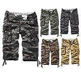 Surplus Trooper Legend 3/4 Shorts, Grün (Oliv Gewaschen), Gr. XXL