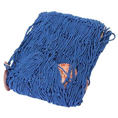 WSS Nautisch Angeln Netz Dekoration SÜDLÄNDISCHER STIL Schalentiere Netze Wand Ornamente im Kinder Zimmer, Zuhause oder Bar