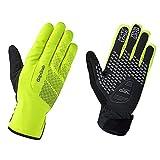 GripGrab Unisex Ride Wasserdichter Winter Handschuhe , Gelb Hi-Vis, XL