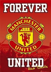 GB eye Ltd, Manchester United, Forever, Maxi Poster, (61x91.5cm) SP0268