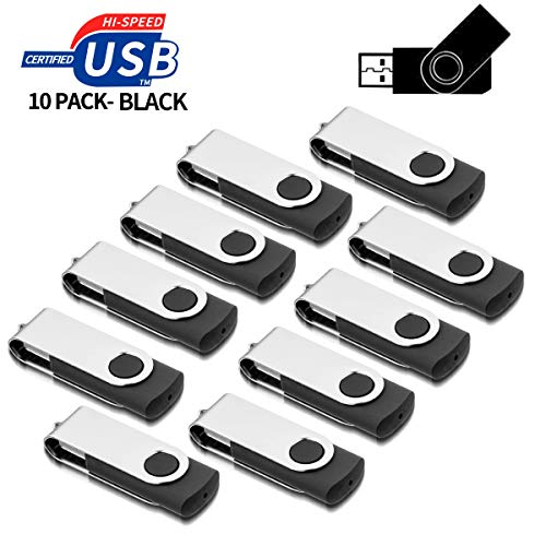 AreTop 10 stück 1GB USB Stick Speicher high speed USB 2.0 (Flash-speicher, 1 Gb)