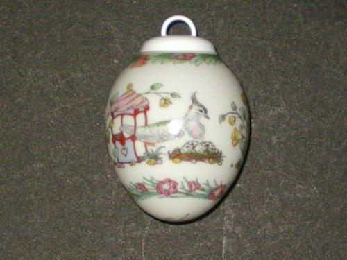 Hutschenreuther - Porzellan Miniatur Ei 1999 -...