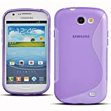 Samsung Galaxy Express I8730 Étui HCN PHONE S-Line TPU Gel Silicone Coque souple pour Samsung Galaxy Express I8730 - VIOLET