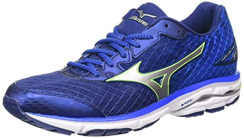 mizuno-wave-rider-19-shoes-homme-bleu-twilight-blue-silver-green-gecko-425-eu