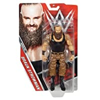 WWE serie Basic 75 ACTION FIGURE - Marrone strowman' IL MOSTRO Among Uomo 'WRESTLING giocattolo