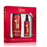Revlon Uniq 1 All in One Shampoo 300ml and Hair Treatment 150ml Gift...