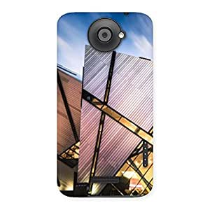 Neo World Architectural Pattern Back Case Cover for HTC One X