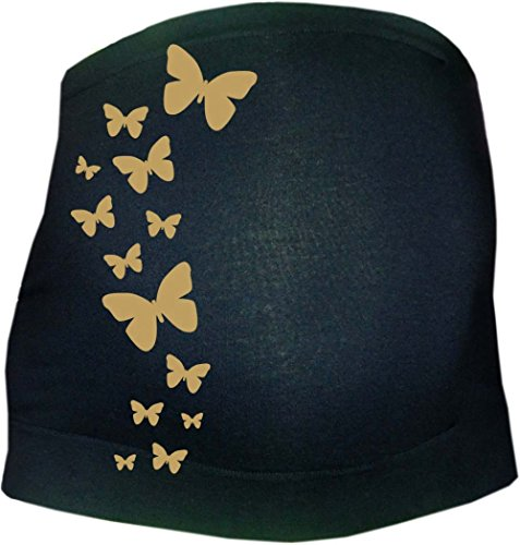 Bauchband stützend, verstellbar mit Schmetterlinge