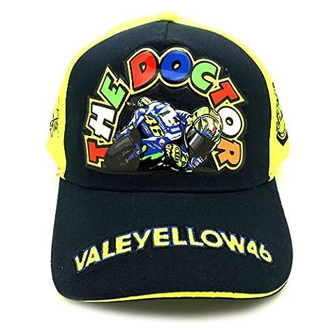 Valentino Rossi VR46 Moto GP The Doctor bleu Enfant casquette
