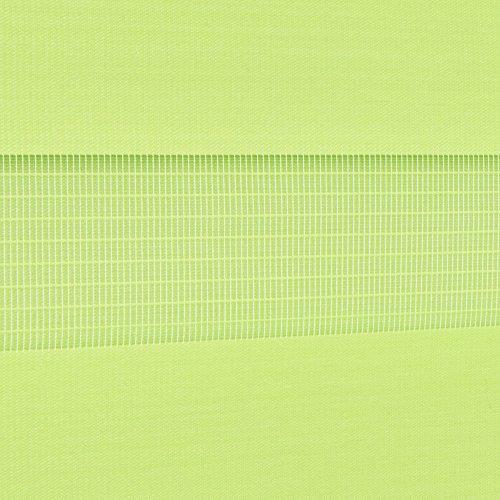 Doppelrollo Duorollo verschiedene Farben und Größen ohne Bohren Klemmrollo Seitenzugrollo Grün 110×150 cm - 3