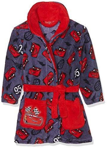 Disney Jungen Bademantel Cars Lightning 95, Rot (Red 19-1763TC), 2-3 ()