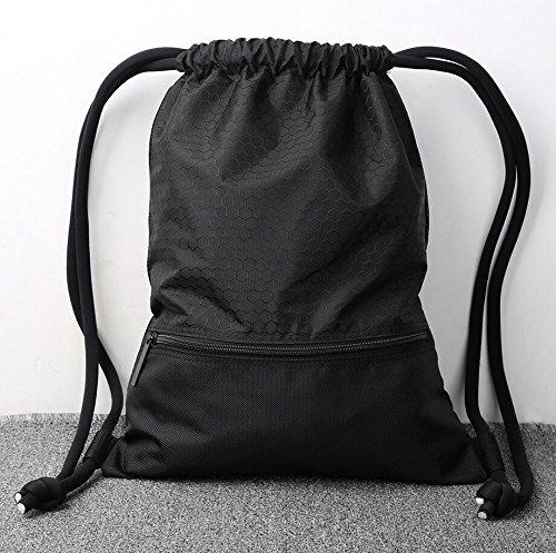 Imagen de  de gimnasio,gzqes,bolsos de gimnasio para hombres mujeres,bolsa de fitness, para escalada,bolsa de deportes,45 x 35 cm negro