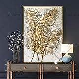 CHASOE 100% Handgemalte Reed Design Abstrakte Günstige Handgemachte Ölgemälde Auf Leinwand Wandkunst Bild Für Wohnzimmer Ungerahmt 60X90 cm