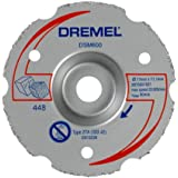 Dremel - Disco de corte enrasado de carburo multiusos Dremel DSM20 (DSM600)
