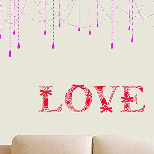 Wandbild ZOZOSO Schlafzimmer-Nachttisch-Dekorative Wandaufkleber Sofa Tv Background Decoration Wall Stickers