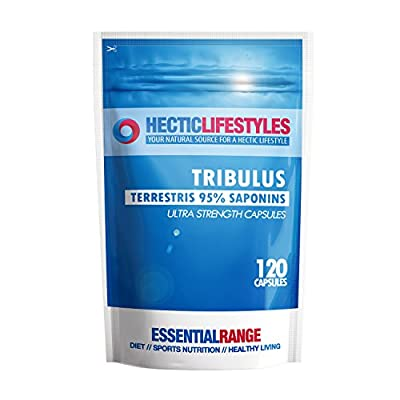 Tribulus Terrestris 6500mg Higher Strength 95% Saponins - 120 capsules from Hectic Lifestyles