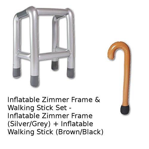 Aufblasbar Laufgestell Rahmen & Spazierstock - Aufblasbare Spazierstock