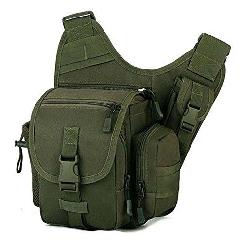 ZHANGRONG- Sacchetto di sella dell'esercito esterno Pacchetto trasversale obliquo Guidare una borsa Sacchetto di fotografia Borsa Sacchetto di camuffamento (Opzionale a colori) ( Colore : 1 ) 7