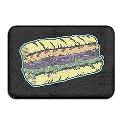 Sandwich Hot Dog Petits Pains Funny Paillasson 4060cm